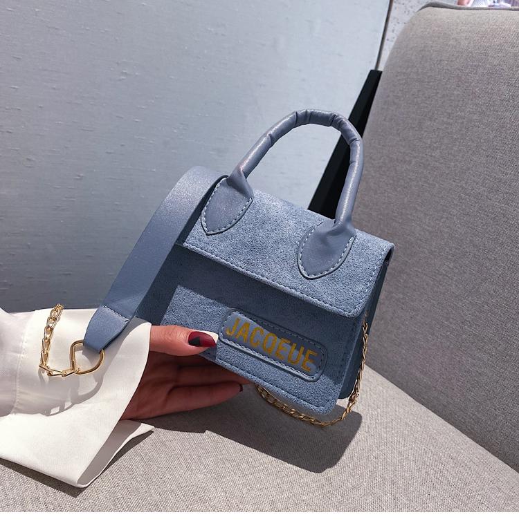 New fashion matte portable small bag Korean  wild shoulder Messenger bag mini letter women bag NHXC200587