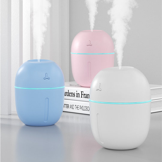 Humidifier USB mini household mute bedroom office dormitory car small desktop large capacity portable creative hydrating air spray pregnant women baby cute student net red with paragraph
