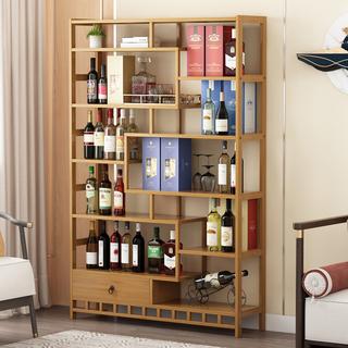 Винные шкафы, бары,  Вино отрезать кабинет опираться на стена простой современный гостиная ворота зал зал кабинет богатые древний полка шоу кабинет дерево новый китайский стиль мебель, цена 7210 руб