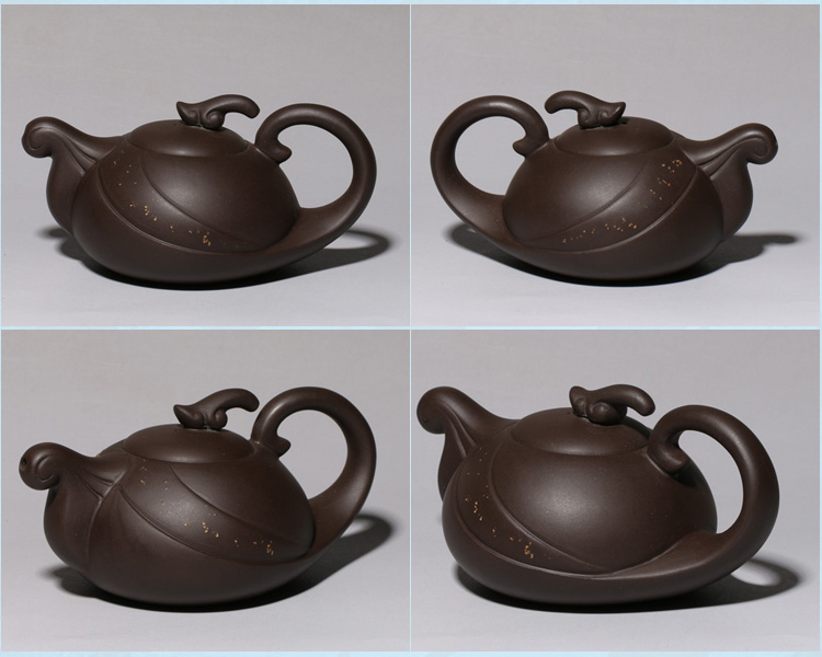 Yixing it manual undressed ore authentic purple clay teapot tea set all sorts of modelling the teapot