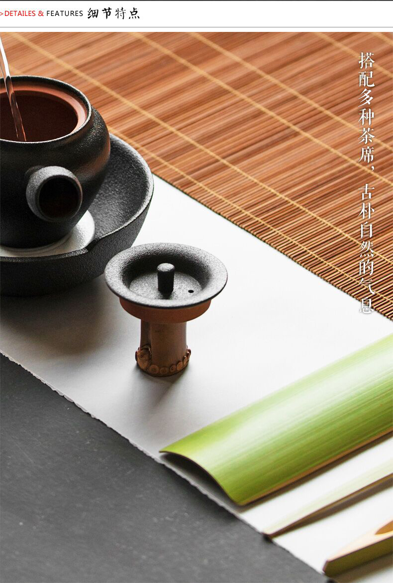 Old buy checking bamboo bamboo cover lid are it cover kung fu tea set cover bamboo bamboo holder frame tea accessories