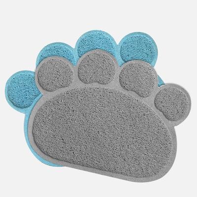 林之堡猫脚垫猫砂垫猫砂带出垫子蹭脚垫猫厕所垫子爪型猫砂过滤垫