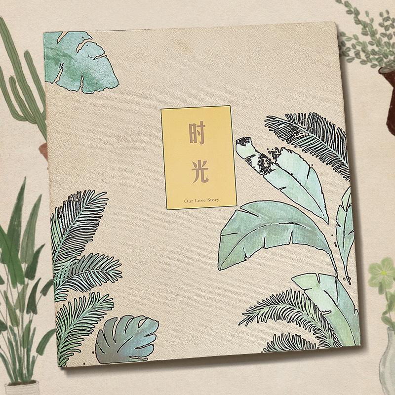 4R家庭相册本 插页式6寸600张横竖大容量影集儿童宝宝情侣纪念册