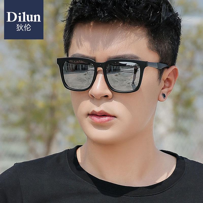 2019新款偏光太阳镜男潮流时尚方形墨镜韩版眼睛防紫外线开车眼镜