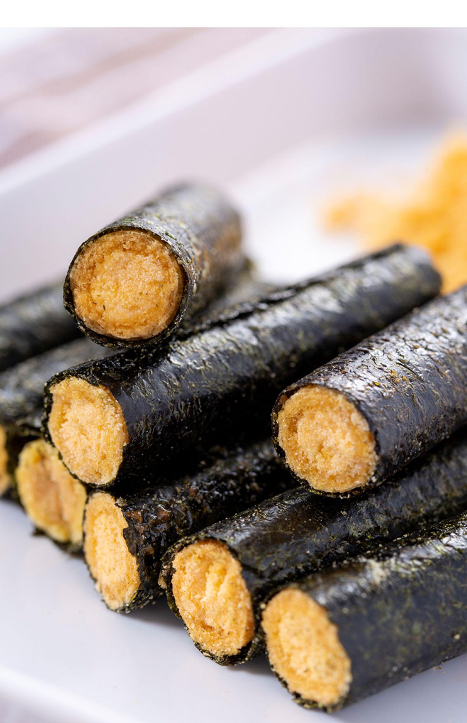 藤壶岛肉松盒装即食夹心脆海苔卷