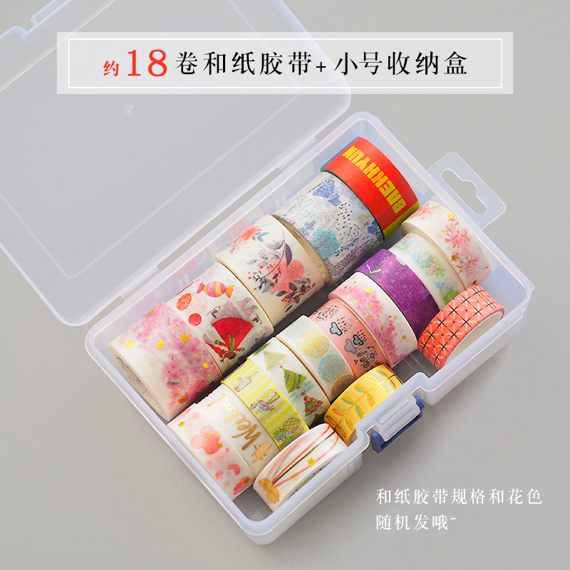18 Rolls And Paper Tape (small Storage Box)