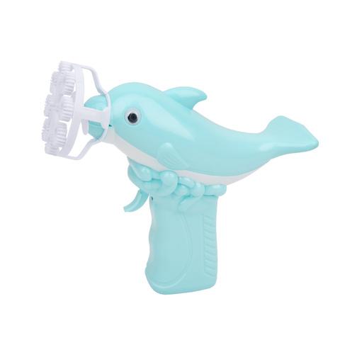 抖音同款玩具网红仙女少女心吹泡泡机电动全自动海豚泡泡枪防漏