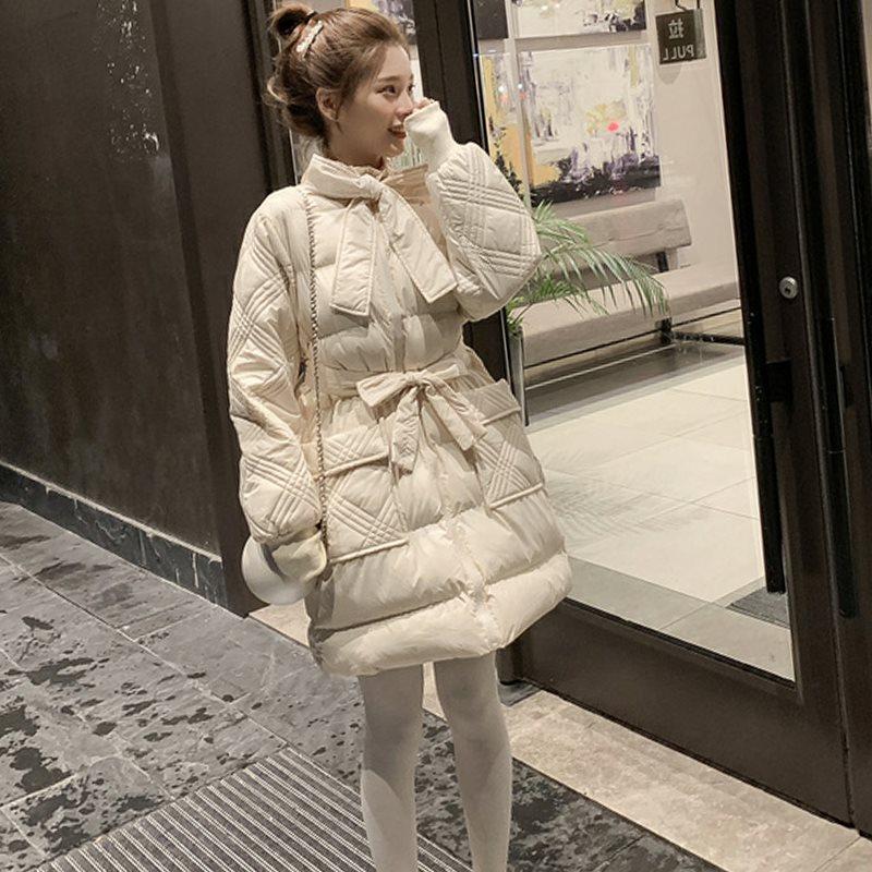 韩国代购东大门棉服中长款羽绒棉衣外套女ins港风面包服韩版宽松