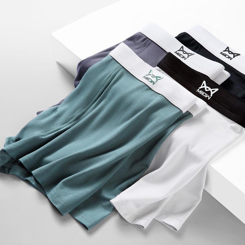 【猫人】纯棉莫代尔男士内裤3条装