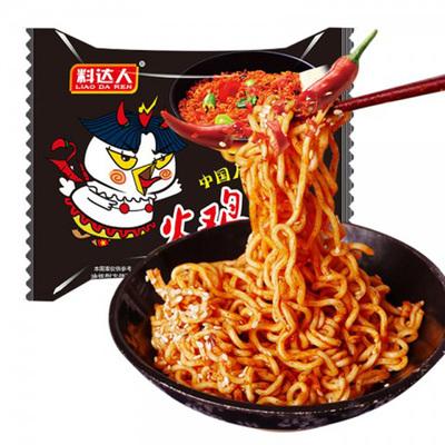 【抖音火爆】超辣火鸡拌面5连包