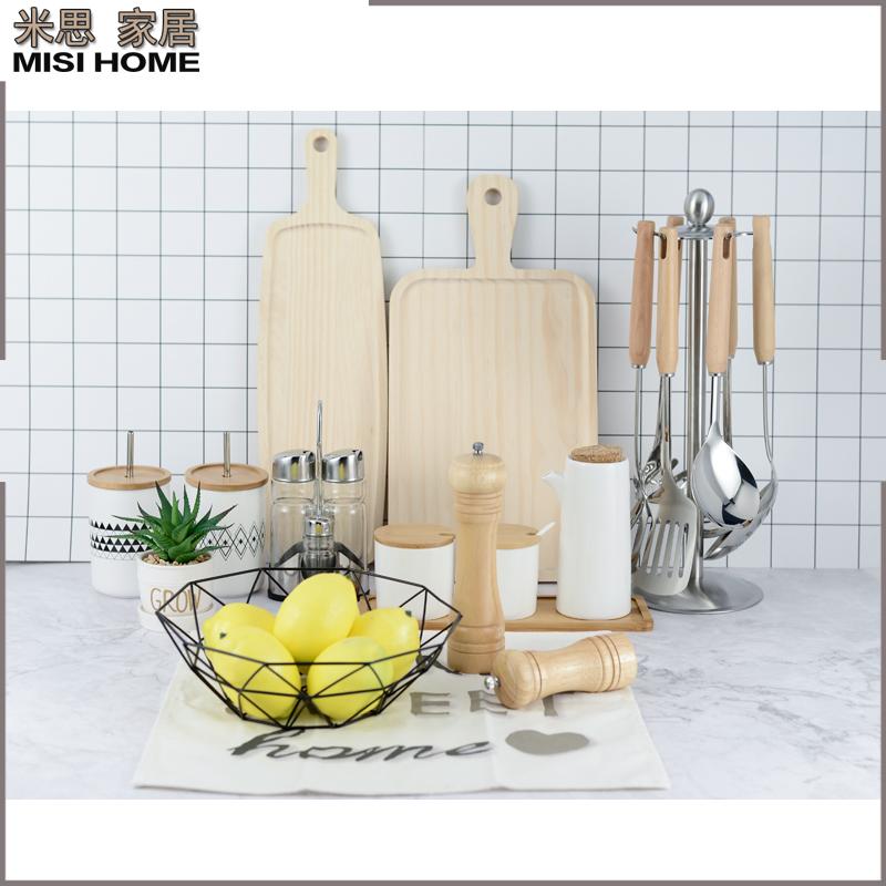 摆件橱柜展厅厨房北欧样板房间胡椒调味罐套装筒软装饰品陈列道具