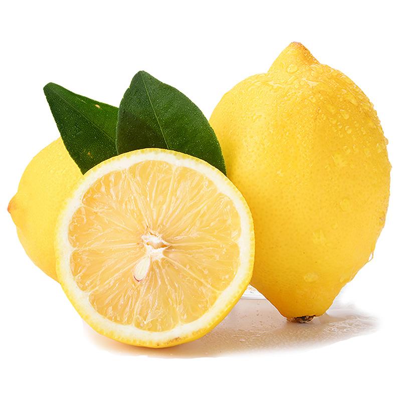 【现货发货】四川安岳黄柠檬新鲜水果精选中大果5斤皮薄单果90g+