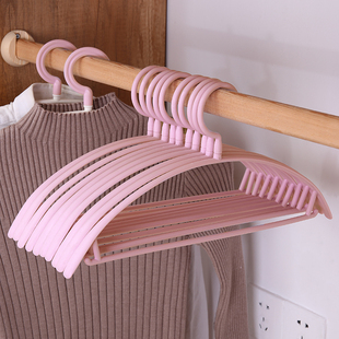 [qianzixiu] 10 wide shoulder and thickened anti slip clothes hangers