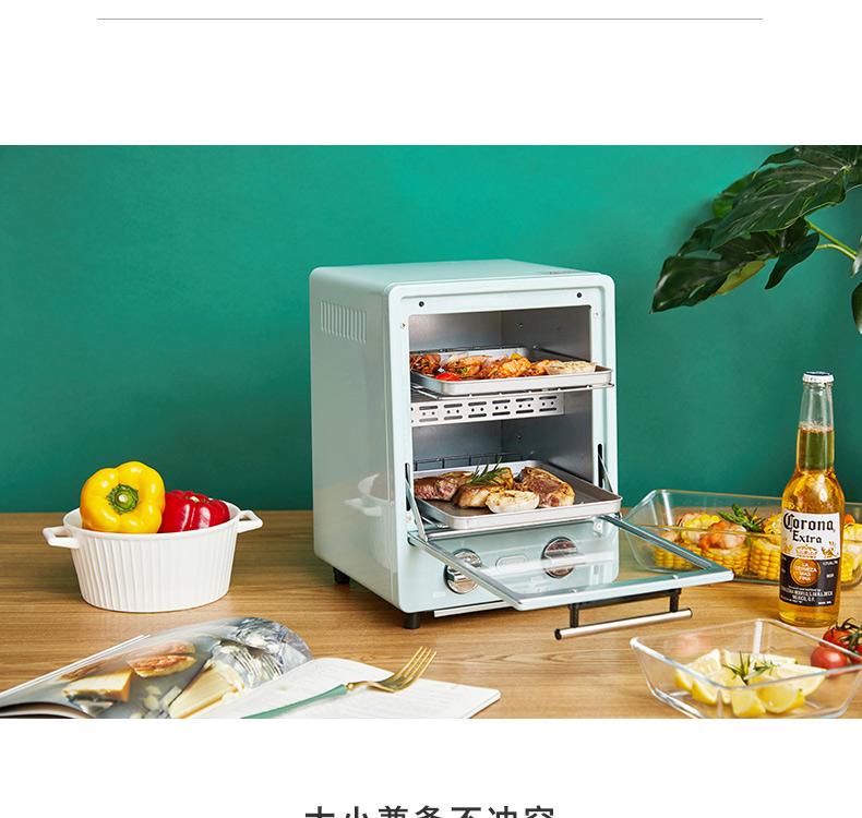 日本TOFFY双层烤箱