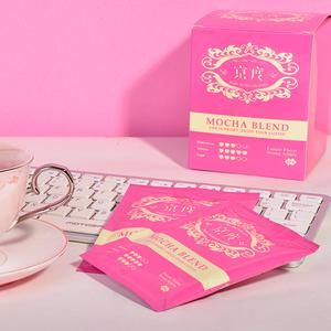 京度摩卡浓缩挂耳咖啡美式咖啡滴滤式特纯黑手冲咖啡粉现磨10包装