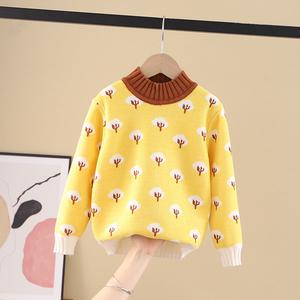 【童趣虎】儿童针织衫女童毛衣