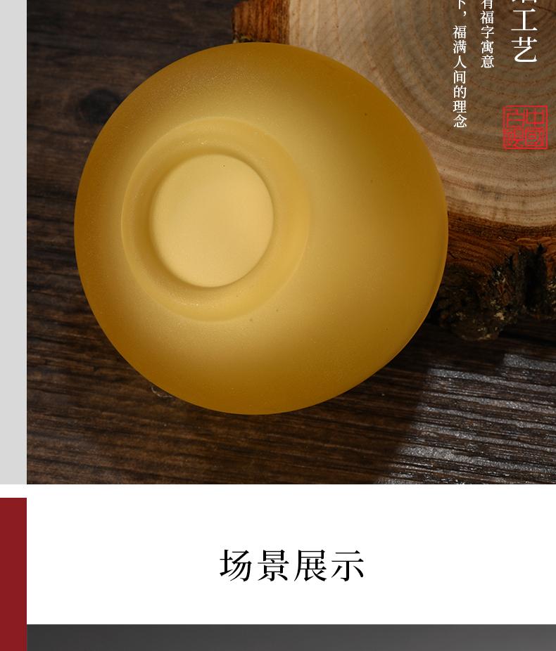 中国白银 鎏银珐琅彩瓷 99足银功夫茶杯 券后99元包邮 买手党-买手聚集的地方
