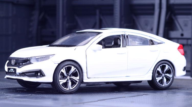 Xe mô hình tĩnh Honda Civic tỉ lệ 1:32 - ảnh 8