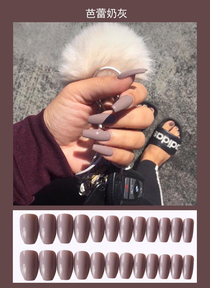 指甲贴片美甲成品穿戴式可拆卸果冻胶可摘可戴假指甲片甲壳虫美甲详细照片
