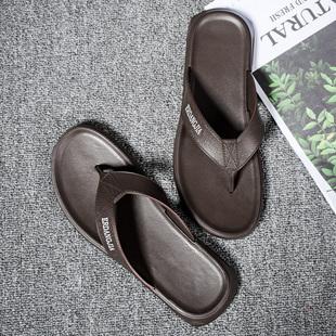 韓托比2019夏人字拖男夾腳防滑個性涼拖鞋男士時尚外穿沙灘鞋涼鞋