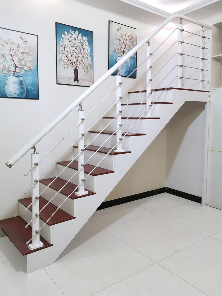 Stair main courante garde-corps maison intérieur grenier clôture yang-bar edperation pvc simples fabricants modernes de garde-corps.