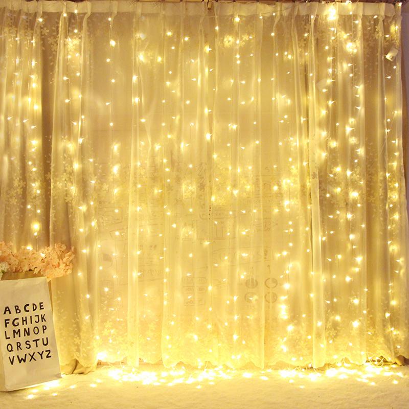 led小彩灯闪灯串灯满天星七彩变色网红房间布置家用装饰灯星星灯
