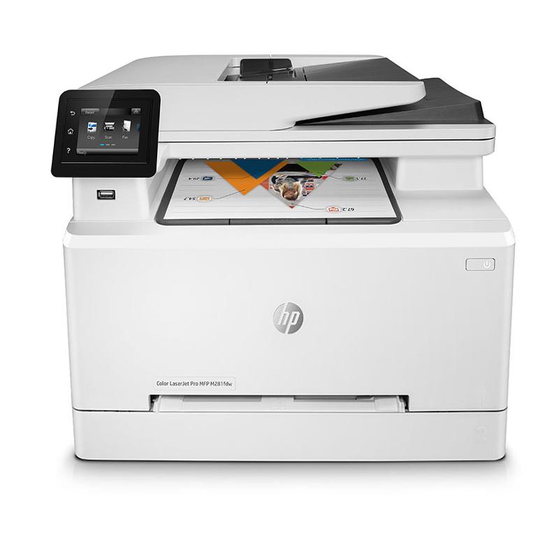 五折、4合1功能:惠普 M281fdw 彩色激光無線打印機