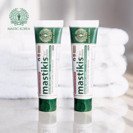 麦斯特凯斯乳香牙膏抗幽门螺旋杆菌HP去除口臭家庭实惠装成人2支