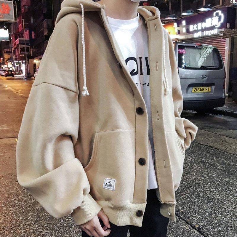Spring boys coat students Korean version of the original wind BF jacket Hong Kong wind spring and autumn ins work clothes thin coat