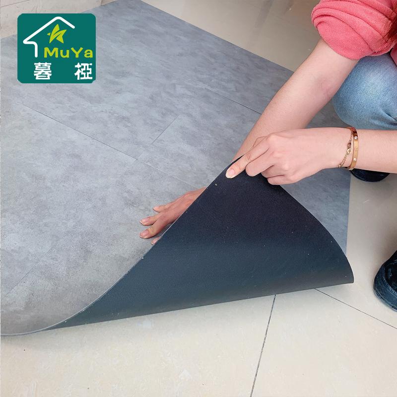 pvc地板自粘地板贴纸 地板革加厚耐磨塑胶地板贴家用防水卧室地胶