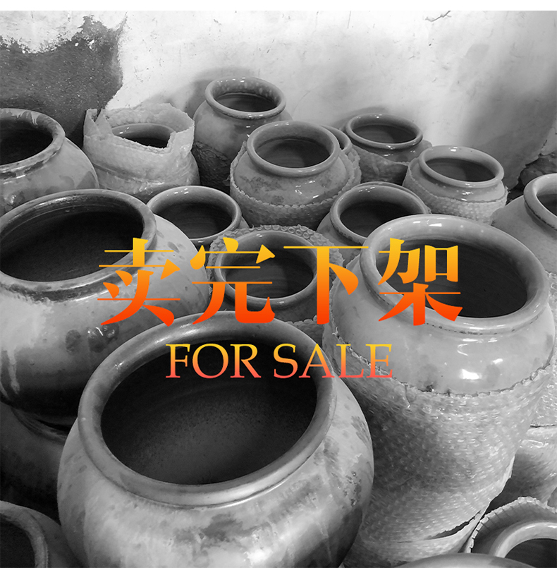 Clearance rule of jingdezhen ceramic landing big vase creative coarse pottery restoring ancient ways is the sitting room TV cabinet dry flower arranging furnishing articles
