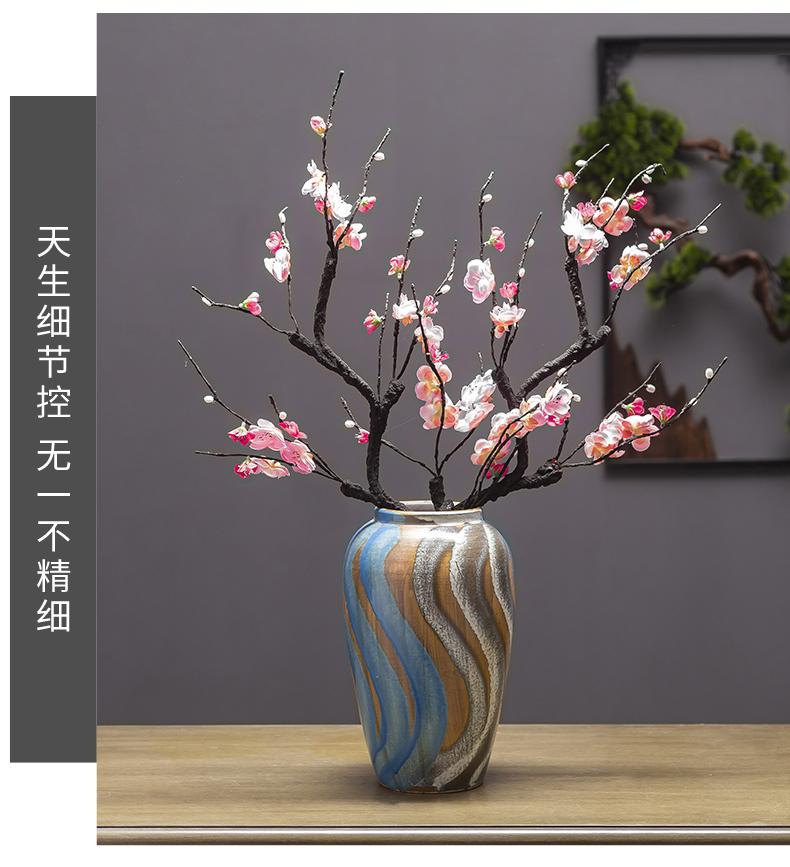 Jingdezhen Jane beauty ceramic POTS restoring ancient ways American flower arranging flowers, dried flowers, water raise sitting room mesa floret bottle furnishing articles