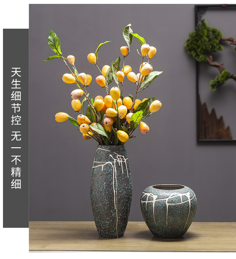 I and contracted land sitting room creative flower arranging furnishing articles home decoration ceramic dry flower flower bottles of floral arrangements