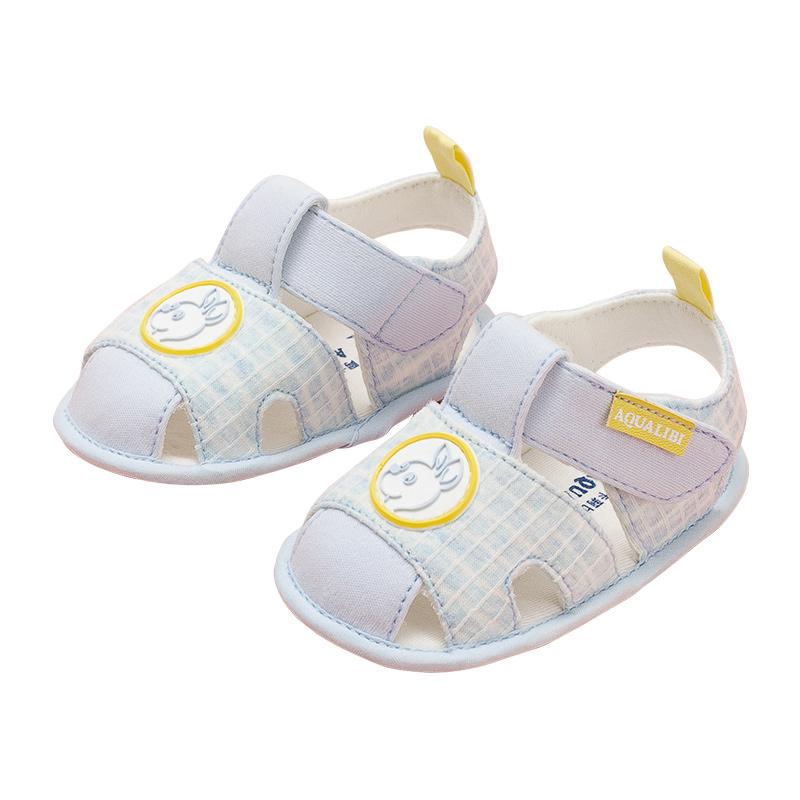 阿卡莉比2019夏季学前软底鞋男女宝宝鞋0-2岁婴儿学步鞋童鞋凉鞋(非品牌)