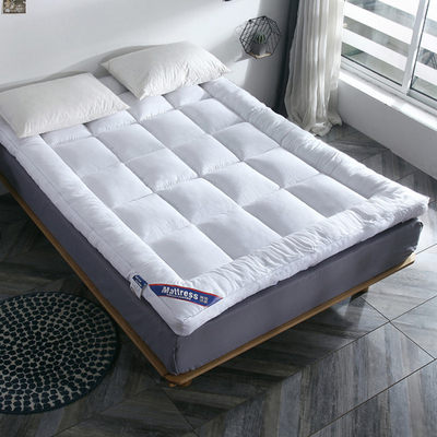 Feather velvet mattress upholstery double 1.8m warm mattress with thick tatami mats and quilts for single rental