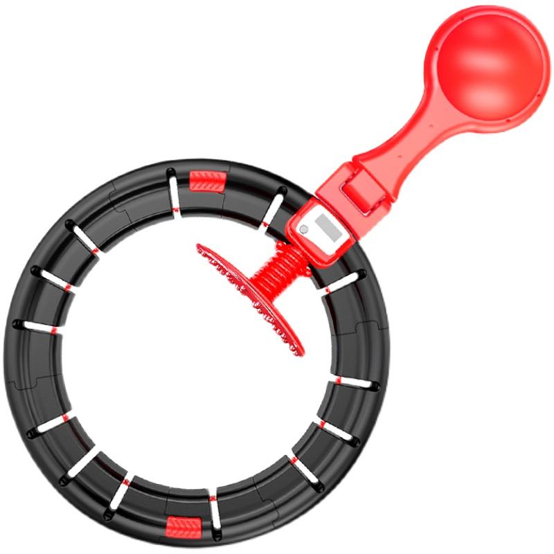 网红同款正版智能健身呼啦圈收腹加重减肥女神器懒人瘦腰肚子磁石