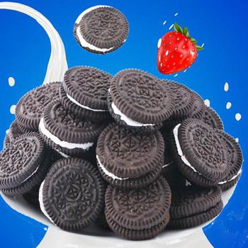 【拍5件】网红迷你夹心奶油小黑饼52包