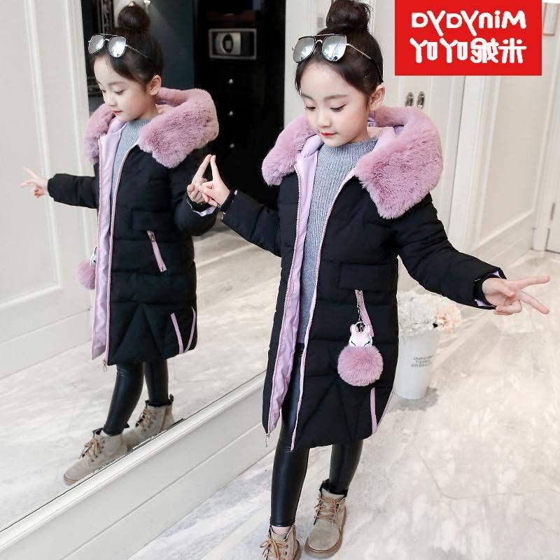 女孩正羽绒6到7至8岁专柜装12冬季小孩子10冬装9品牌穿的冬天女童