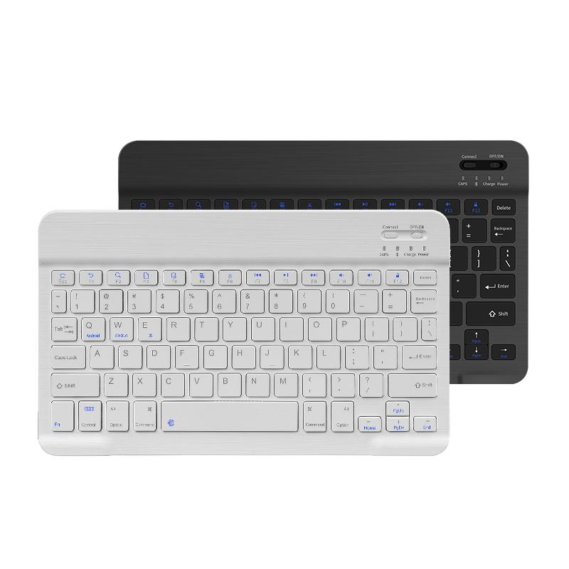 雷宝龙 充电式无线蓝牙 静音巧克力键盘