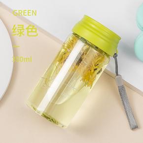 【象扣】带盖食品级杯子水杯350ml