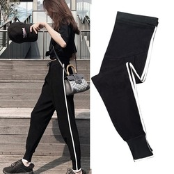 Spring and summer thin pregnant women's pants, spring and autumn models, outer wear trousers, summer wear, leggings, sports pants, fashion spring new styles