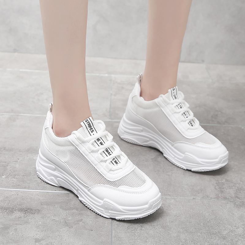2019新款韓版透氣老爹鞋