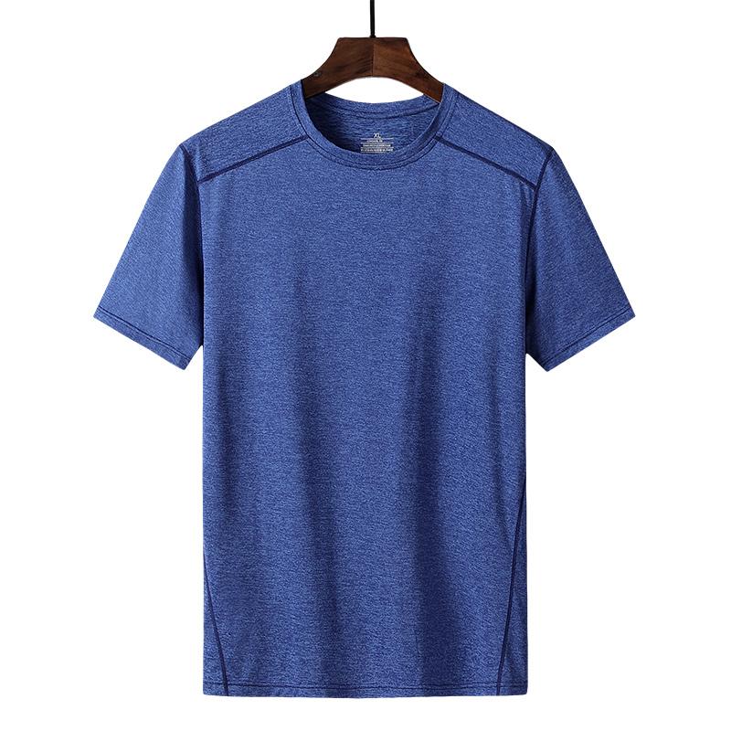 休闲T恤男士速干阳离子运动短袖