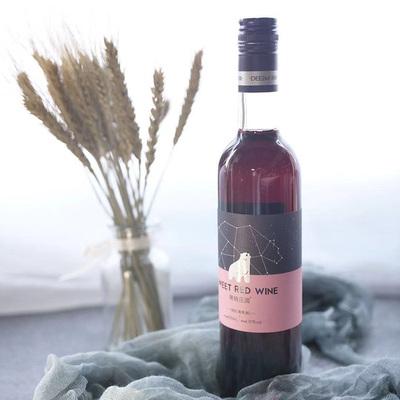 蒂姆庄园甜红葡萄酒甜红酒甜葡萄酒水果酒女士低度酒非香槟起泡酒