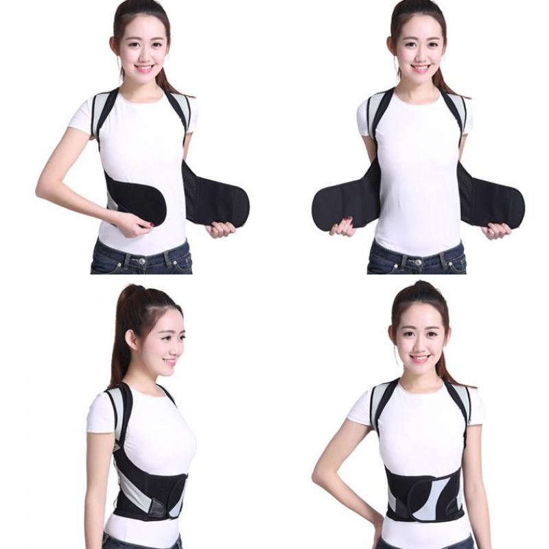 Benimei tàng hình nâng cấp chống rùa lưng nẹp vai dây đeo bướu chỉnh đai người lớn học sinh trẻ em nam nữ - Vai tráng