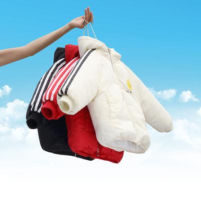 儿童棉服2019新款男童棉衣加厚女童棉服宝宝冬装棉袄婴儿保暖外套