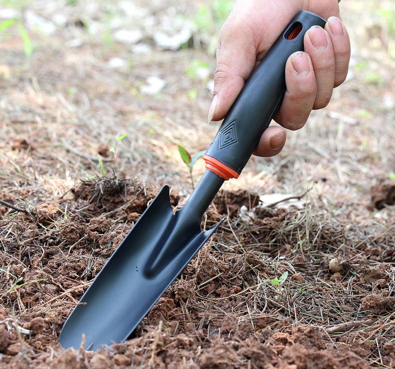 小铲子套装种菜园艺铁铲种花家用栽养花挖土多肉工具户外赶海神器详细照片
