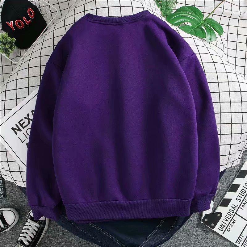Kobe Black Manba autumn winter sweater men's plush clothes loose-fitting bottom t-shirt Korean version trend long-sleeved T-shirt 51 Online shopping Bangladesh