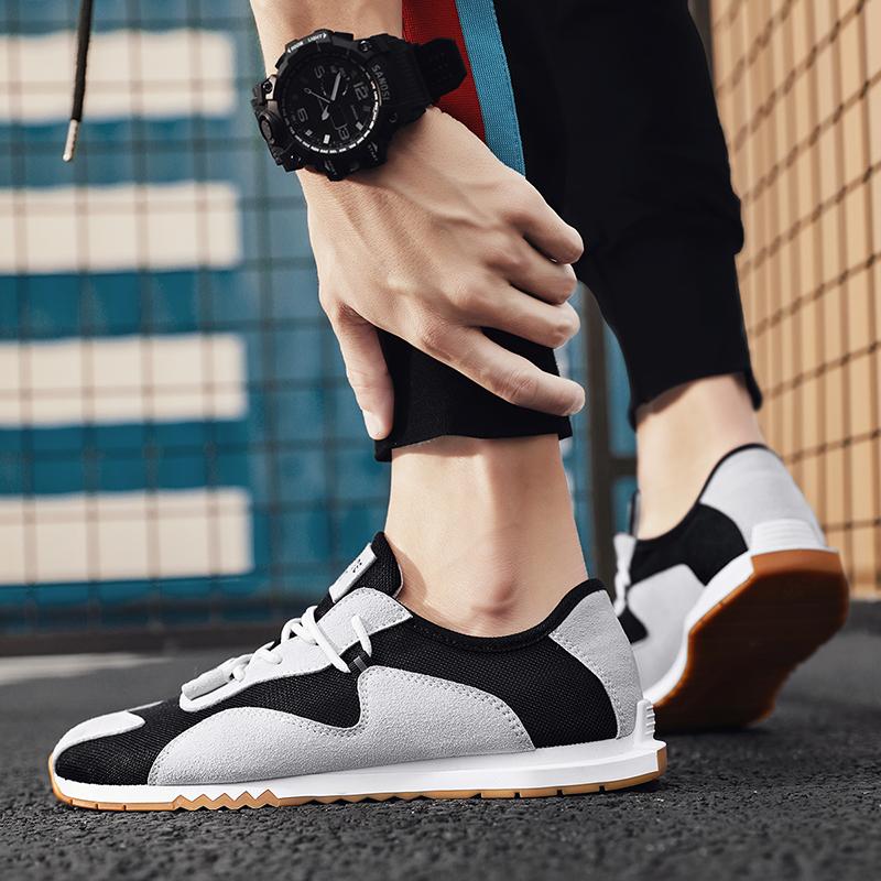 夏季网眼透气男鞋薄款网鞋男式运动鞋耐磨网面轻便单网鞋