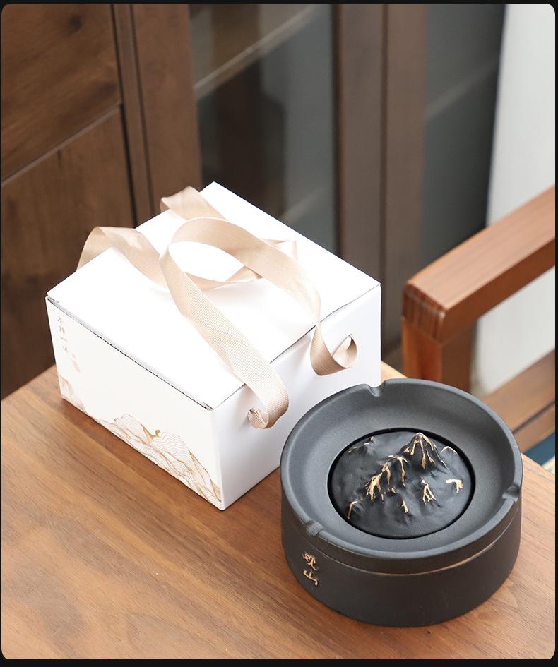 创意灰缸日式烟灰缸创意个性